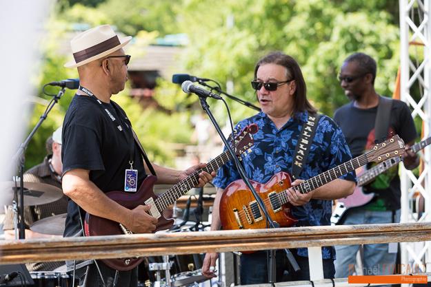 Larry Garner & Neal Black Blues Band